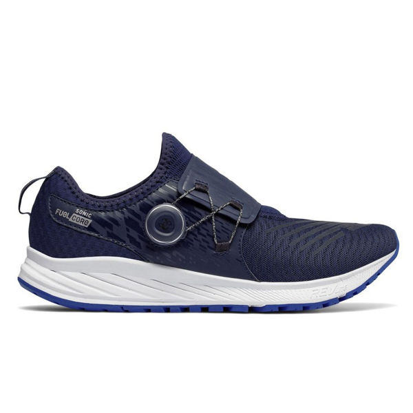 Picture of NEW BALANCE ROAD RUNNING SHOES FUELCORE SONIC DARK BLUE FOR MEN
