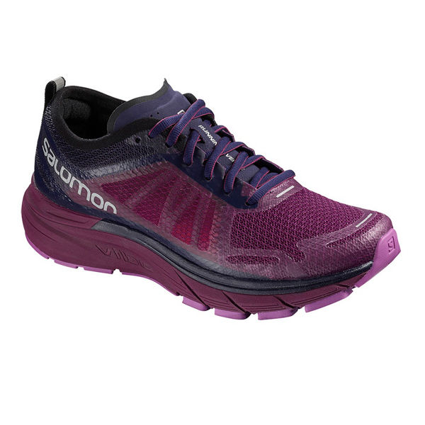 Picture of SALOMON ROAD RUNNING SHOES SONIC RA MAX W PURPLE FOR WOMEN