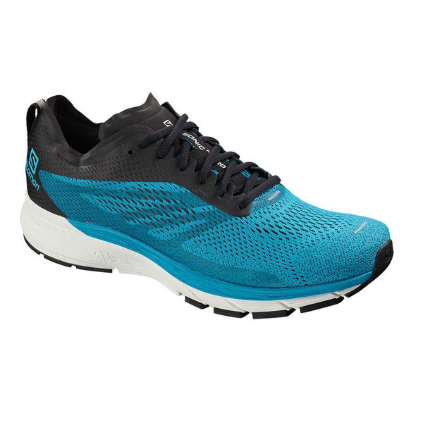 Picture of SALOMON ROAD RUNNING SHOES SONIC RA PRO 2 HAWAIIAN SURF/BLACK/WHITE FOR MEN
