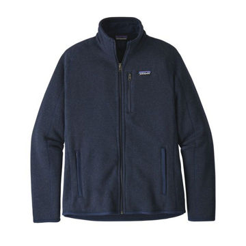 Image de CHANDAIL DE SKI ALPIN PATAGONIA BETTER SWEATER FLEECE JACKET NEW NAVY POUR HOMME
