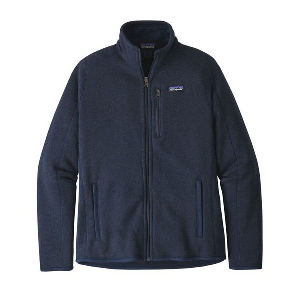 Image sur CHANDAIL DE SKI ALPIN PATAGONIA BETTER SWEATER FLEECE JACKET NEW NAVY POUR HOMME