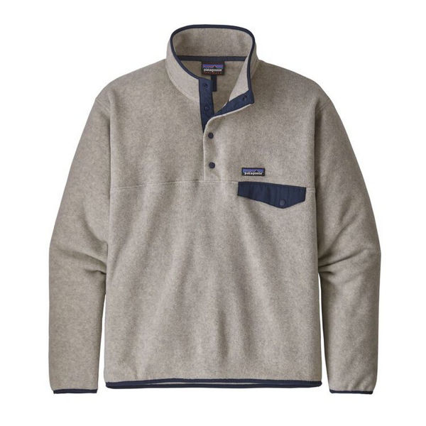 Image sur CHANDAIL DE SKI ALPIN PATAGONIA LIGHTWEIGHT SYNCHILLA SNAP-T FLEECE PULLOVER OATMEAL HEATHER POUR HOMME