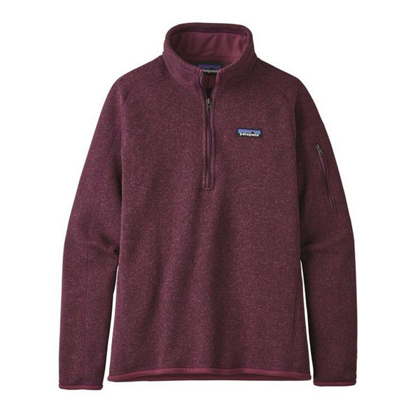 Picture of PATAGONIA ALPINE SKI SWEATERS BETTER SWEATER 1/4 ZIP FLEECE LIGHT BALSAMIC FOR WOMEN