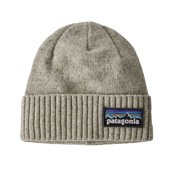 Picture of PATAGONIA HAT BRODEO BEANIE P-6 LOGO: DRIFTER GREY