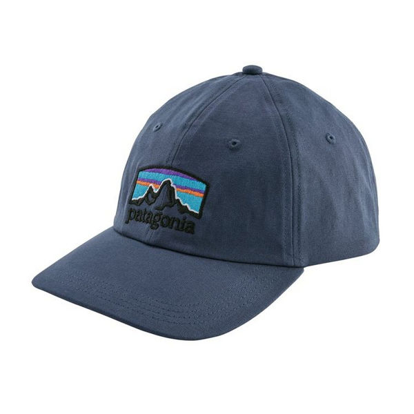 Picture of PATAGONIA CAP FITZ ROY HORIZONS TRAD CAP DOLOMITE BLUE