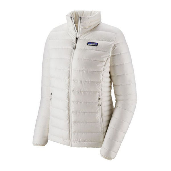 Picture of PATAGONIA ALPINE SKI JACKETS DOWN SWEATER JACKET BIRCH WHITE FOR WOMEN