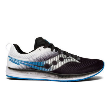 Picture of SAUCONY ROAD RUNNING SHOES FASTWITCH 9 BLACK/WHITE FOR MEN