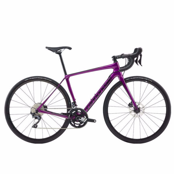 Picture of CANNONDALE ROAD BIKE SYNAPSE CARBON DISC ULTEGRA PURPLE 2019 FOR WOMEN