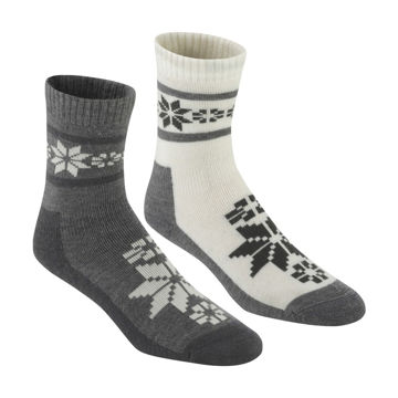 Picture of KARI TRAA SOCKS RUSA WOOL SOCK 2PK DUS