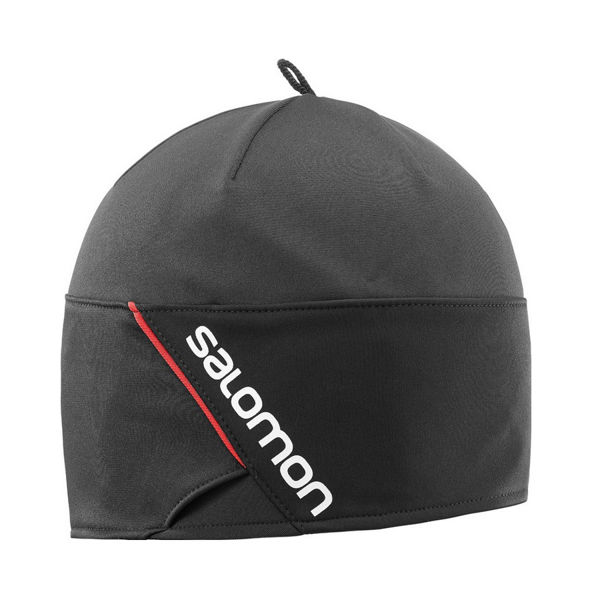 Picture of SALOMON HAT RS BEANIE BLACK/BLACK/WHITE