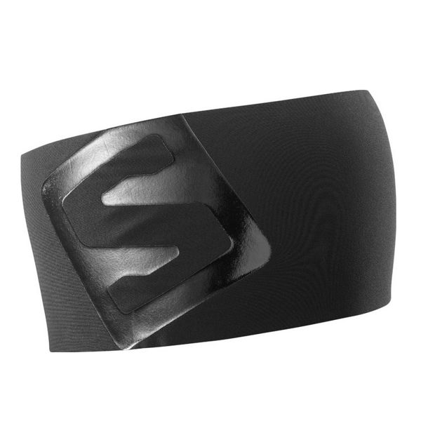 Image sur TUQUE SALOMON RS PRO HEADBAND BLACK/SHINY BLACK