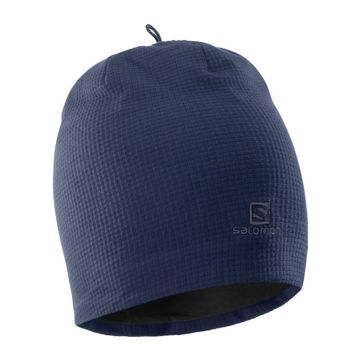 Image de TUQUE SALOMON RS WARM BEANIE NIGHT SKY/GRAPHITE