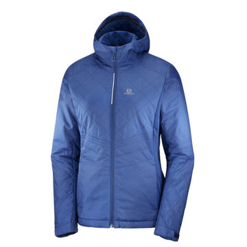 Picture of SALOMON CROSS COUNTRY SKI JACKET NOVA HOODIE POSEIDON