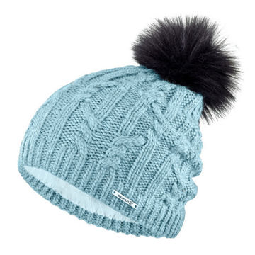 Picture of SALOMON HAT IVY BEANIE STONE BLUE
