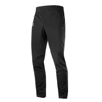 Picture of SALOMON CROSS COUNTRY SKI PANT RS SOFTSHELL BLACK