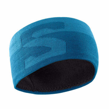 Image de TUQUE SALOMON ORIGINAL HEADBAND FJORD BLUE/LYONS BLUE