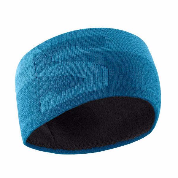 Image sur TUQUE SALOMON ORIGINAL HEADBAND FJORD BLUE/LYONS BLUE