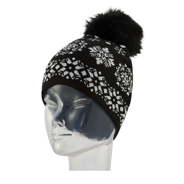 Picture of NEWLAND HAT DENISE BLACK/WHITE