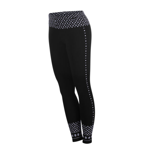 Picture of NEWLAND LEGGINGS ELECTRA BLACK/WHITE