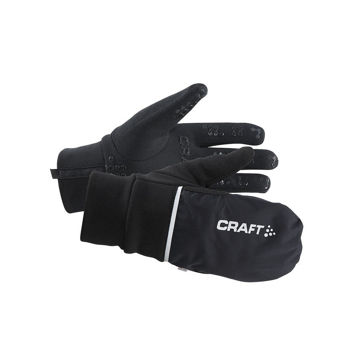 Picture of CRAFT GLOVES HYBRID WEATHER BLACK