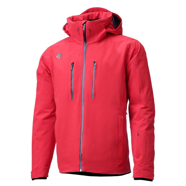 Picture of DESCENTE ALPINE SKI JACKET BRECK RED