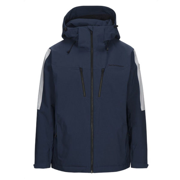 Image sur MANTEAU DE SKI ALPIN PEAK PERFORMANCE CLUSAZ DECENT BLUE