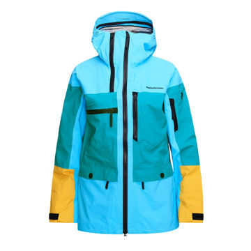 Image de MANTEAU DE SKI ALPIN PEAK PERFORMANCE VERTICAL DEEP AQUA
