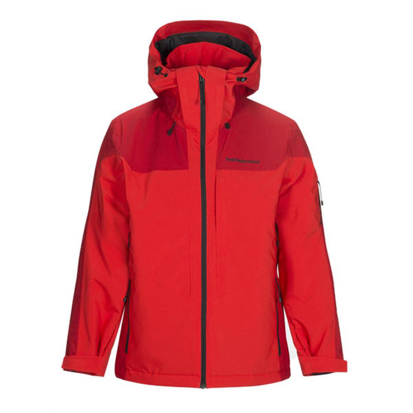 Picture of PEAK PERFORMANCE ALPINE SKI JACKET MAROON RACE DYNARED