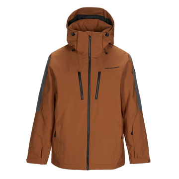 Image de MANTEAU DE SKI ALPIN PEAK PERFORMANCE CLUSAZ HONEY BROWN