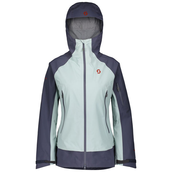 Image sur MANTEAU DE SKI ALPIN SCOTT EXPLORAIR TOUR BLUE NIGHTS/CLOUD BLUE