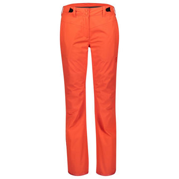 Picture of SCOTT ALPINE SKI PANTS ULTIMATE DRYO 10 GRENADINE ORANGE