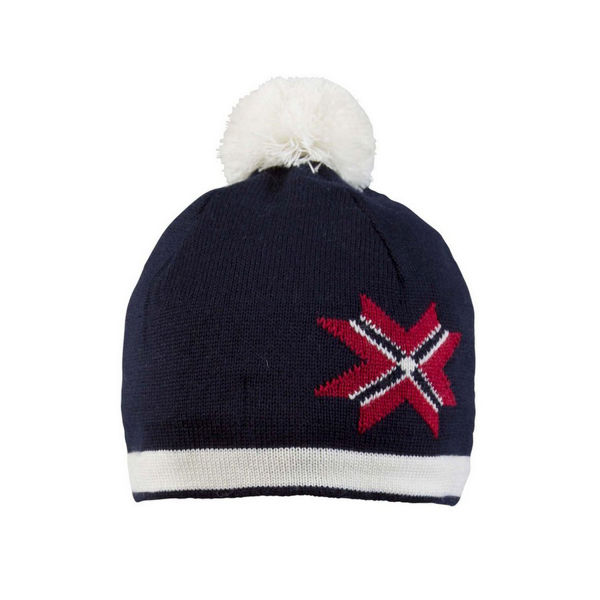 Image sur TUQUE DALE OF NORWAY OL PASSION NAVY/RED/OFFWHITE