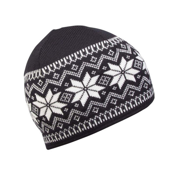 Picture of DALE OF NORWAY HAT GARMISCH BLACK/WHITE