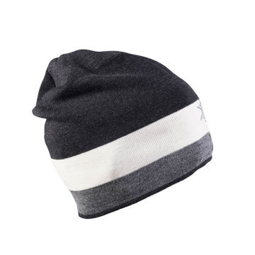 Picture of DALE OF NORWAY HAT GEILOLIA DARK GREY/LIGHT GREY/OFF WHITE