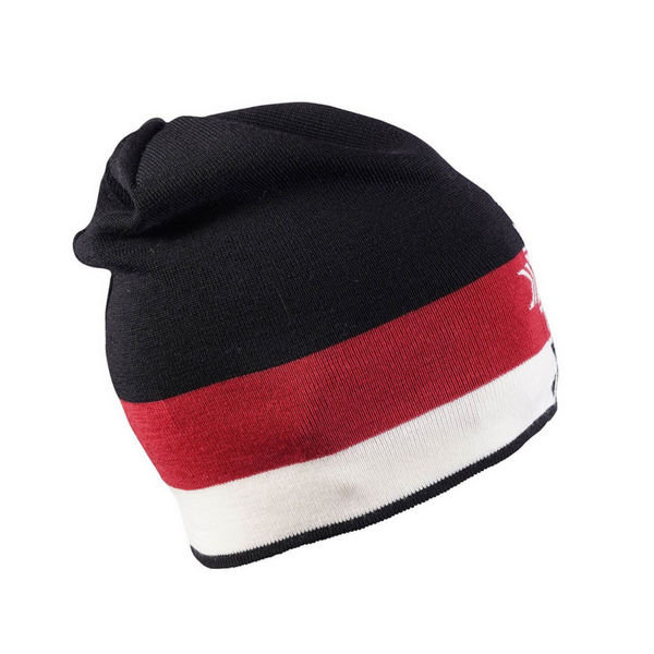 Image sur TUQUE DALE OF NORWAY GEILOLIA BLACK/RED/OFF WHITE