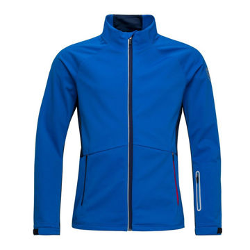 Picture of ROSSIGNOL CROSS COUNTRY SKI JACKET SOFTSHELL MARINE
