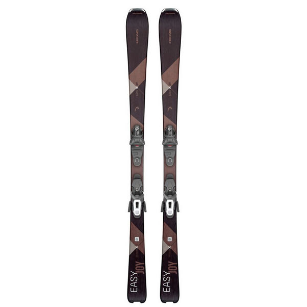 Picture of HEAD ALPINE SKIS EASY JOY W/ JOY 9 SLR GW BLACK/BRONZE 2020 FOR WOMEN (WITH BINDINGS)