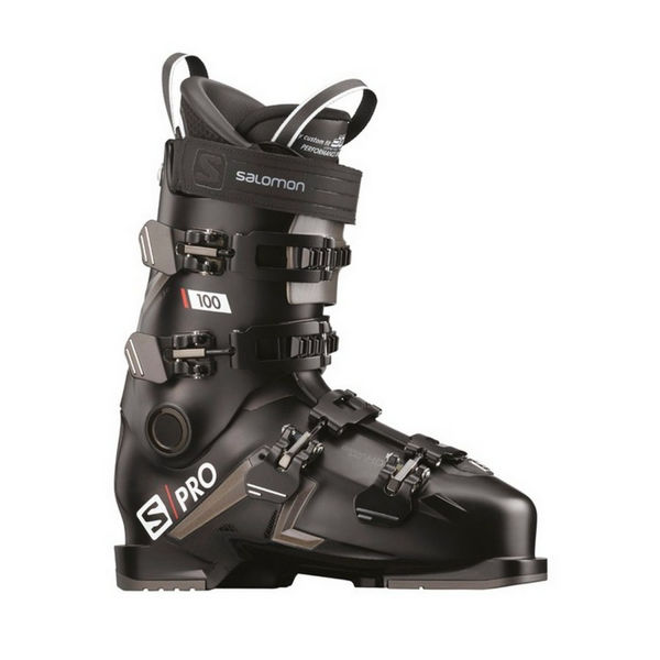 Picture of SALOMON APLINE SKI BOOTS S/PRO 100 BLACK FOR MEN