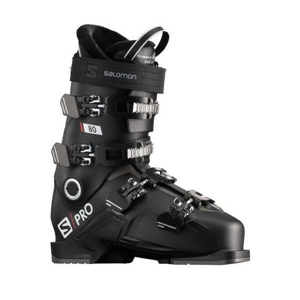 Picture of SALOMON APLINE SKI BOOTS S/PRO 80 BLACK FOR MEN