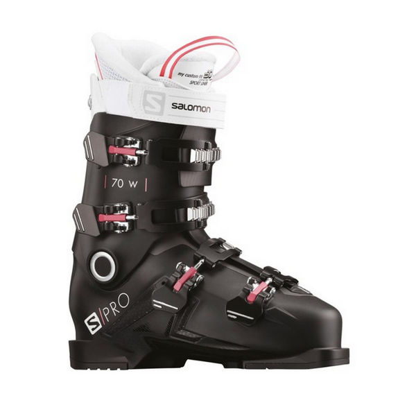 Picture of SALOMON APLINE SKI BOOTS S/PRO 70 W BLACK/PINK FOR WOMEN
