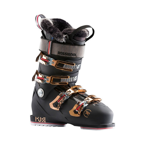 Picture of ROSSIGNOL APLINE SKI BOOTS PURE PRO HEAT BLACK FOR WOMEN