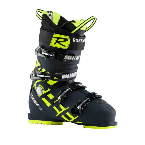 Picture of ROSSIGNOL APLINE SKI BOOTS ALLSPEED 100 BLUE/YELLOW FOR MEN