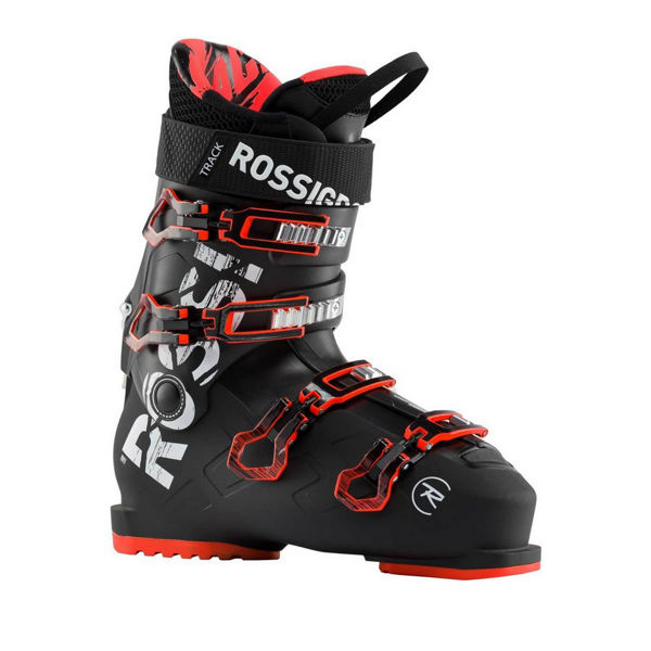 Picture of ROSSIGNOL APLINE SKI BOOTS TRACK 80 BLACK/RED FOR MEN