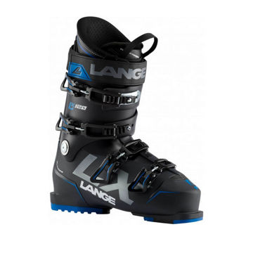 Picture of LANGE APLINE SKI BOOTS LX 120 BLACK/BLUE FOR MEN