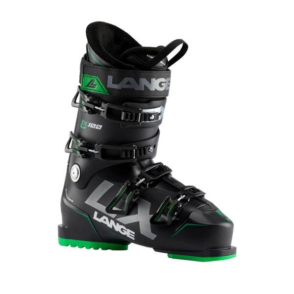 Picture of LANGE APLINE SKI BOOTS LX 100 BLACK/GREEN FOR MEN