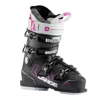 Picture of LANGE APLINE SKI BOOTS LX 80 W ANTHRACITE/PINK FOR WOMEN