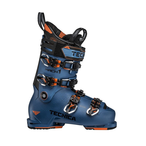 Picture of TECNICA APLINE SKI BOOTS MACH1 LV 120 BLEU/ORANGE FOR MEN