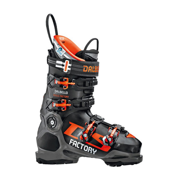 Picture of DALBELLO APLINE SKI BOOTS DS ASOLO FACTORY GW BLACK/ORANGE FOR MEN