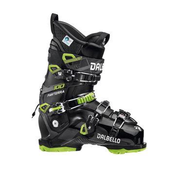 Picture of DALBELLO APLINE SKI BOOTS PANTERRA 100 GW BLACK/GREEN FOR MEN