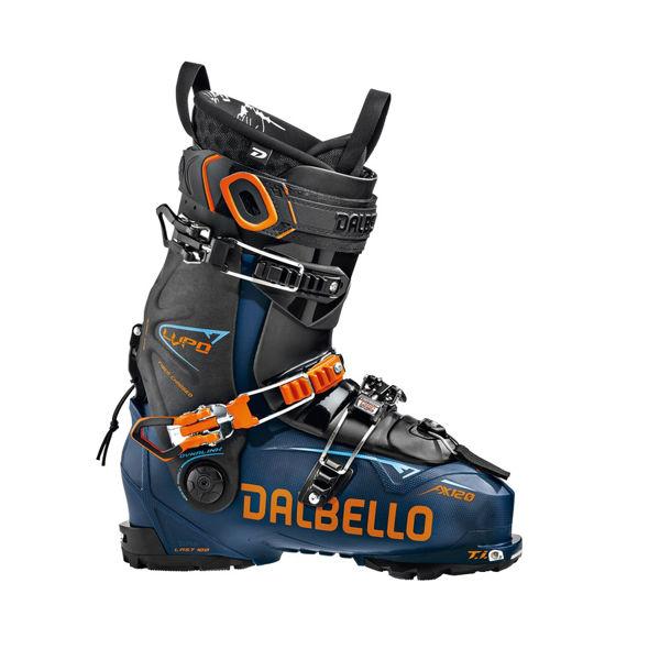 Picture of DALBELLO APLINE SKI BOOTS LUPO AX 120 BLUE/ORANGE FOR MEN